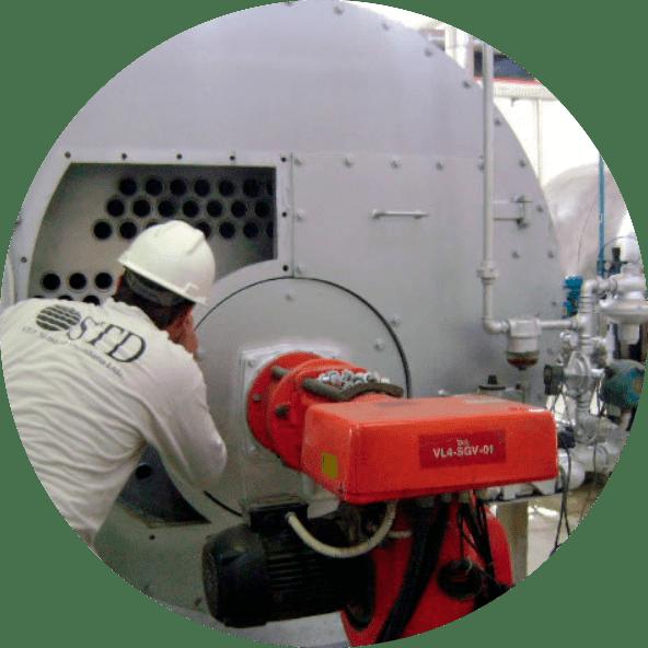 STD Engenharia | Serviços | Inspeções | Caldeiras