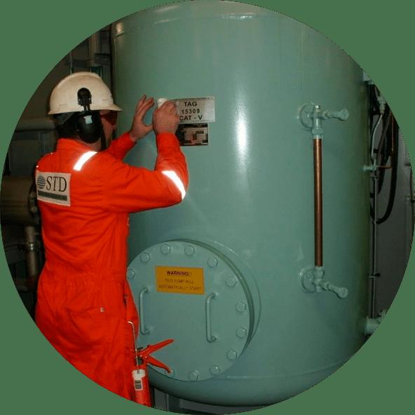 STD Engenharia   Serviços   Inspeção   Vasos de Pressão